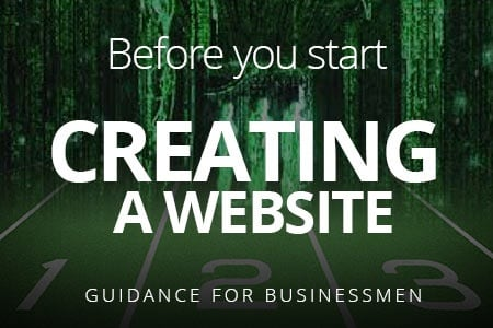 Stages of creating a website. Before you start
