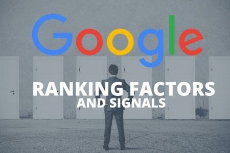 List of SEO ranking factors and signals